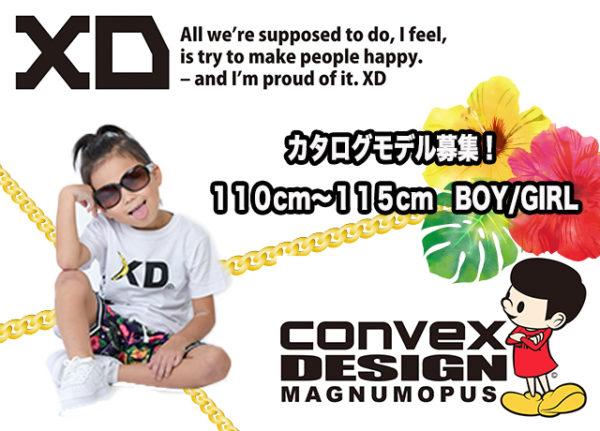 Convex and XD カタログモデル募集受付開始!